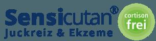 Cortisonfrei gegen Juckreiz und Entzündung | sensicutan.de Logo