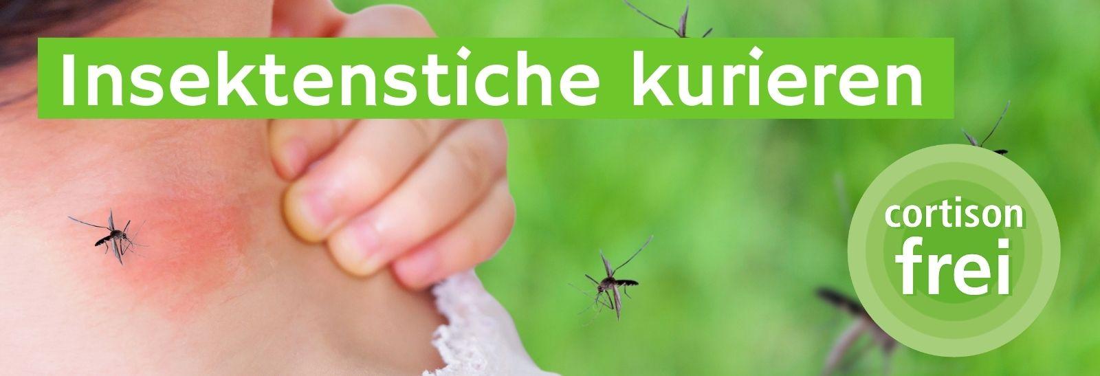 Insektenstiche kurieren cortisonfrei mirt Sensicutan