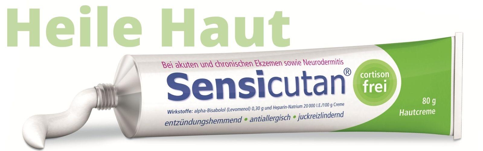 Sensicutan Creme für heile Haut